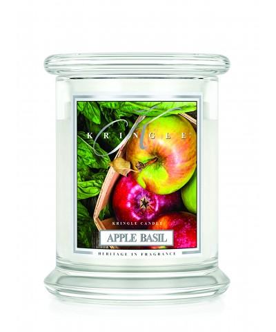 Apple Basil - Jabłko i Bazylia (Świeca Średnia 2 Knoty)
