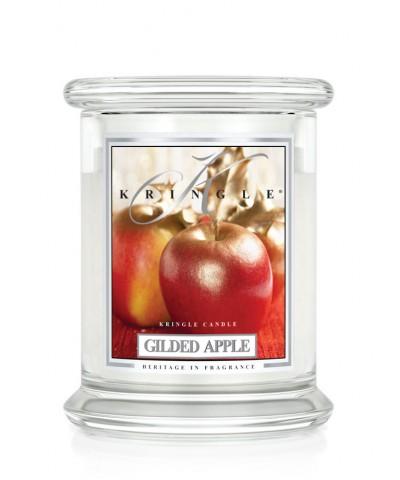 Gilded Apple - Złocone Jabłko (Świeca Średnia 2 Knoty)