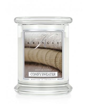 Kringle Candle - Comfy Sweater - Wygodny Sweter - Świeca Zapachowa Mała