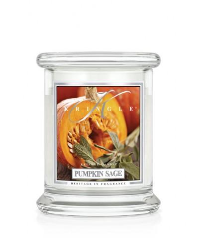 Pumpkin Sage - Dynia i Szałwia (Mała Świeca)