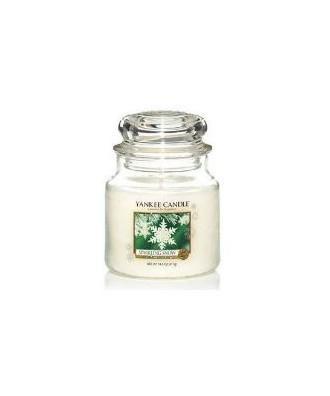 Yankee Candle - Sparkling Snow - Iskrzący Śnieg - Świeca Zapachowa Średnia