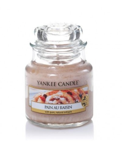 Pain au Raisin - Drożdżówka z Rodzynkami (Słoik Mały)