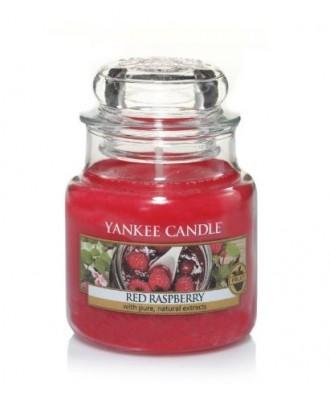 Yankee Candle - Red Raspberry - Czerwone Maliny - Świeca Zapachowa Mała
