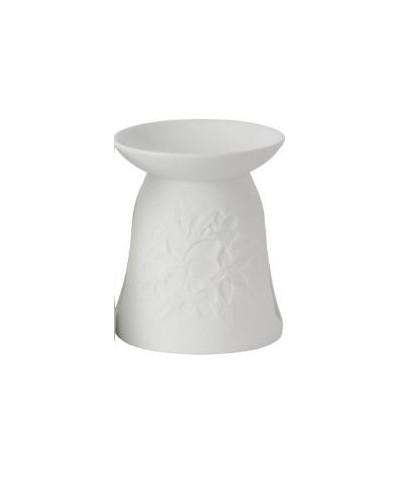 Kominek w Kwiaty Biały