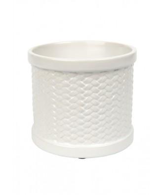 Weave Scenterpiece Biały (Kominek Elektryczny do Wosków)