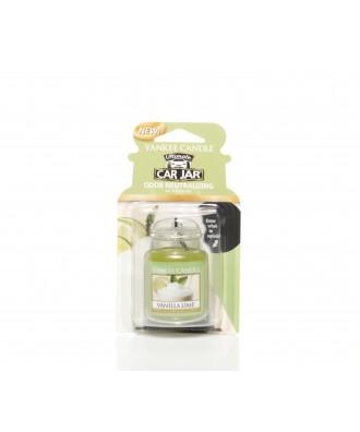 Yankee Candle - Vanilla Lime - Wanilia i Limonka - Car Jar Ultimate