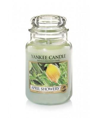 Yankee Candle - April Showers - Kwietniowe Ulewy - Świeca Zapachowa Duża