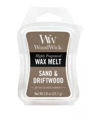 Woodwick - Sand & Driftwood - Piasek i Drewno - Wosk Zapachowy