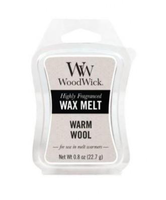 Woodwick - Warm Wool - Ciepła Wełna - Wosk Zapachowy
