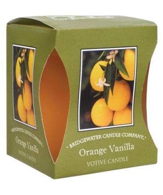 Orange Vanilla - Pomarańczowa Wanilia (Votive - Bridgewater Candles)
