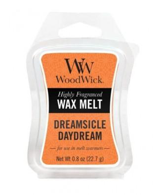 Woodwick - Wosk Zapachowy - Dreamsicle Daydream - Wymarzone Pomarańczowe Cukierki