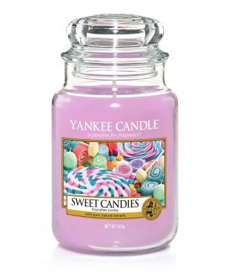 Yankee Candle - Świeca Duża - Sweet Candies - Słodycze