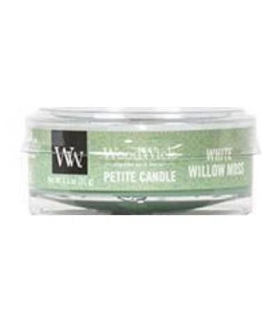 Woodwick - Petite Candle - White Willow Moss - Mech i Wierzba