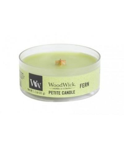 Woodwick - Petite Candle - Fern - Paproć