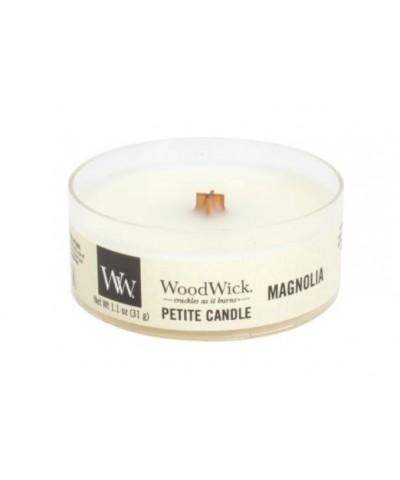 Woodwick - Petite Candle - Magnolia