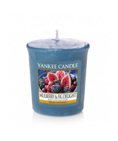 Yankee Candle - Votive - Mulberry & Fig Delight - Rozkoszna Morwa i Figa