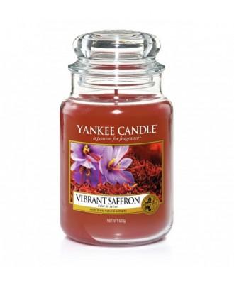 Yankee Candle -  Świeca Duża - Vibrant Saffron - Wibrujący Szafran