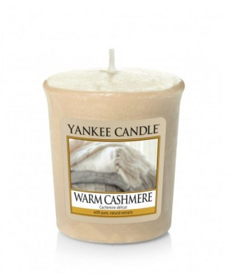 Yankee Candle -  Votive - Warm Cashmere - Ciepły Kaszmir