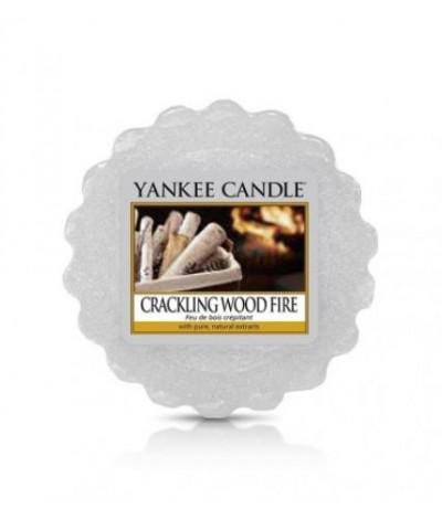 Yankee Candle - Wosk Zapachowy - Crackling Wood Fire - Trzaskający Ogień w Kominku