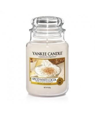 Yankee Candle -  Świeca Duża - Spiced White Cocoa - Biała Czekolada z Przyprawami