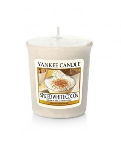 Yankee Candle - Votive - Spiced White Cocoa - Biała Czekolada z Przyprawami