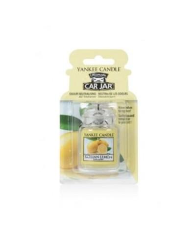 Car Jar Ultimate - Yankee Candle - Sicilian Lemon - Sycylijska Cytryna
