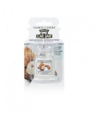 Yankee Candle - Soft Blanket - Miękki Kocyk - Car Jar Ultimate