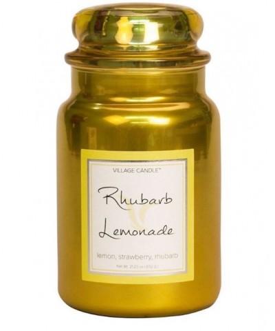 Village Candle - Świeca Duża - Rhubarb Lemonade - Rabarbarowa Lemoniada