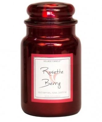 Village Candle - Świeca Duża - Rosette Berry