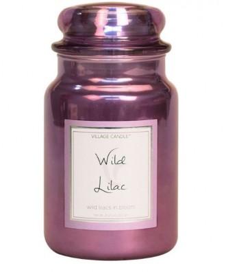 Village Candle - Świeca Duża - Wild Lilac - Dziki Bez