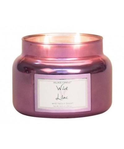 Village Candle - Świeca Mała - Wild Lilac - Dziki Bez