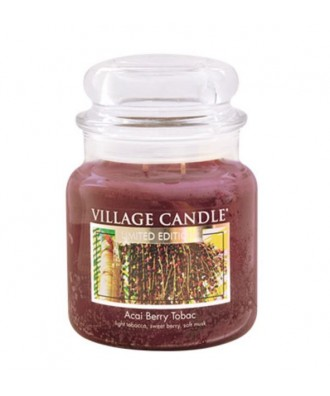 Village Candle - Świeca Średnia - Acai Berry Tobac