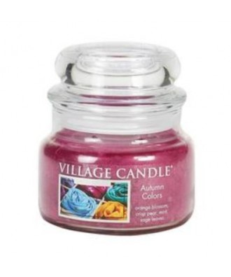 Village Candle - Świeca Mała - Autumn Colors - Kolory Jesieni