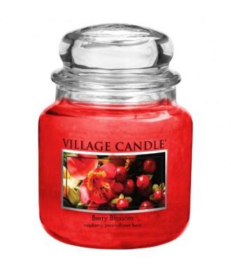 Village Candle - Świeca Średnia - Berry Blossom