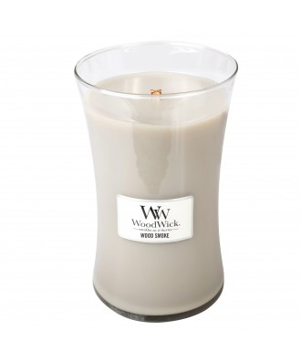 Woodwick - Wood Smoke - Palone Drewno - Świeca Zapachowa Duża Core