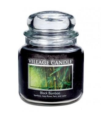 Village Candle - Świeca Średnia - Black Bamboo - Czarny Bambus