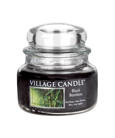 Village Candle - Świeca Mała - Black Bamboo - Czarny Bambus