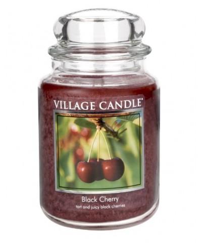 Village Candle - Świeca Duża - Black Cherry - Słodka Wiśnia