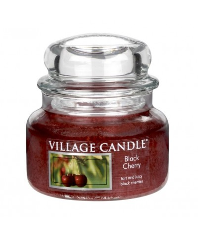 Village Candle - Świeca Mała - Black Cherry - Słodka Wiśnia