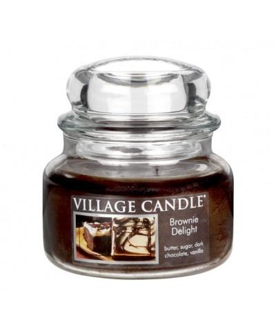 Village Candle - Świeca Mała - Brownie Delight - Rozkoszne Brownie