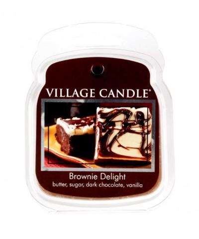 Village Candle - Wosk Zapachowy - Brownie Delight - Rozkoszne Brownie