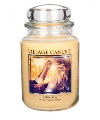 Village Candle - Świeca Duża - Celebration - Świętowanie