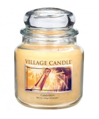 Village Candle - Świeca Średnia - Celebration - Świętowanie