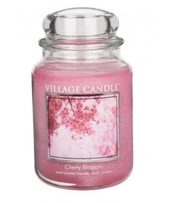 Village Candle - Świeca Duża - Cherry Blossom - Kwitnąca Wiśnia