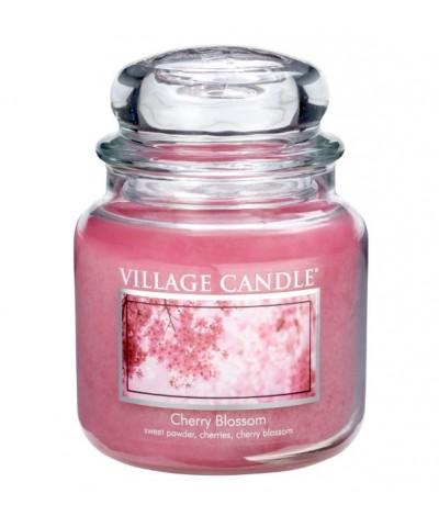 Village Candle - Świeca Średnia - Cherry Blossom - Kwitnąca Wiśnia