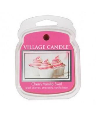 Village Candle - Wosk Zapachowy - Cherry Vanilla Swirl - Wirująca Wiśnia z Wanilią