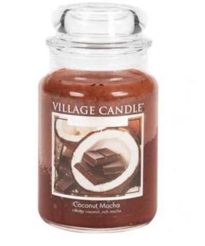 Village Candle - Świeca Duża - Coconut Mocha - Kokosowa Mocha