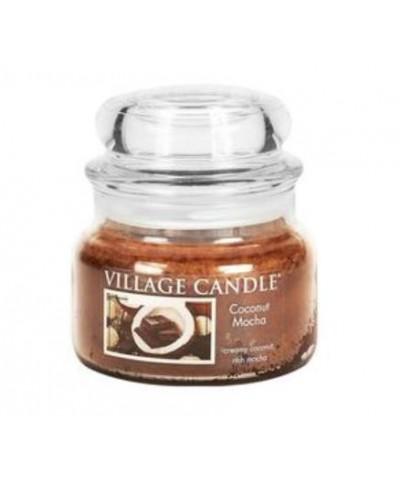 Village Candle - Świeca Mała - Coconut Mocha - Kokosowa Mocha