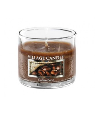 Village Candle - Glass Votive - Coffee Bean - Ziarna Kawy