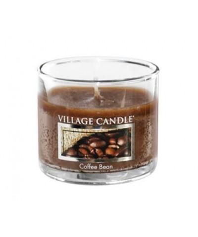 Village Candle - Glass Votive - Coffee Bean - Ziarna Kawy